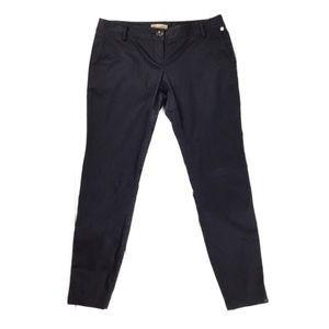 Burberry Brit Navy Zipper Detail Pants Size 8